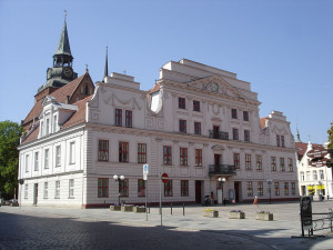 Rathaus der Kreisstadt Güstrow